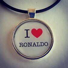 Soccer/Football I Love Ronaldo  Necklace