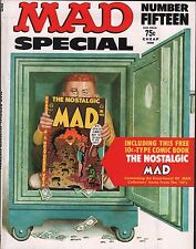 Mad Magazine Special No. 15 Appears to be complete EX 112415DBE