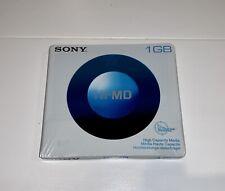 Genuine Sony Hi MD 1GB MiniDisc Mini Disc Sealed and Brand New