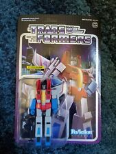 New Unpunched Super7 ReAction Transformers StarScream Action Figure