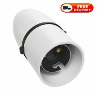 Quality B22 Bulb Cord Grip Lamp holder Light Bulb Fitting Bayonet Mount Holder