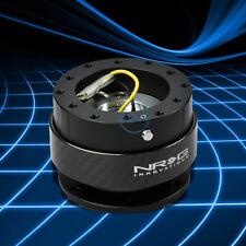Nrg Steering Wheel 6bolt Hub Gen 20 Quick Release Adaptor Kit Real Carbon Fiber