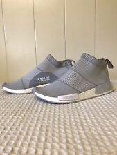Adidas NMD CS1 PK City Sock White Grey White Size 12.5