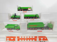 CA203-0,5# 5x Wiking 1:87/H0 LKW Wimo Bau: 674 MB+673 Iveco+676 MAN etc, TOP+OVP