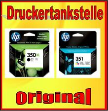 orig. Sparpack HP 350XL HP 351 Photosmart C4280 C4340 C4480 C4585 C5280 D5360