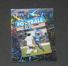N°12 COUVERTURE 1987 FRANCE PANINI FOOTBALL FOOT 2006 2005-2006