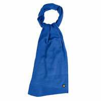 Lyle And Scott Mens Scarf in Blue - One Size