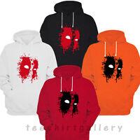 Deadpool Eyes Kids Hoodie Marvel Superhero Hooded Sweatshirt Gift Hoody