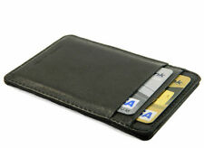 Real Leather Credit Card ID holder Slim Mini Wallet Men Women gift for christmas