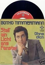 "BOTHO TIMMERMANN Stell' ein Licht ans Fenster 7""-Single"