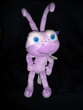 "Bugs Life Disney Store Purple Bugs Life Ant Metallic Wings Plush Stuffed 13""Toy"