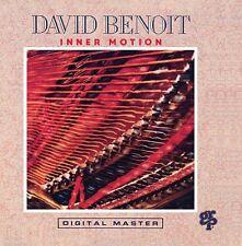 David Benoit inner MOTION/GRP Records CD 1990