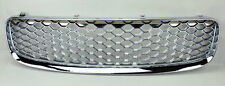 Honeycomb Chrome Mesh Front Hood Bumper Grill Fits Audi TT MK1 99-06