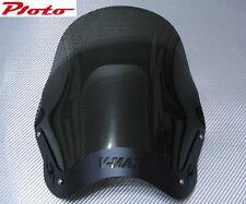 YAMAHA VMAX V-MAX VMAX1200 V-MAX1200 VMAX12 V-MAX12- WINDSHIELD -BLACK-