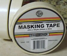 Case of 12 Rolls - 50 Yards Each - STANDARD MASKING TAPE