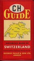 ch guide .motoring guide of switzerland .1950s