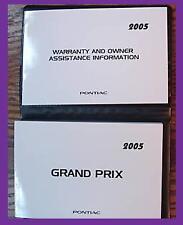 2005   PONTIAC   GRAND  PRIX   OWNER'S  MANUAL  KIT
