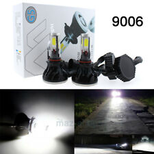 8000Lumens 9006 LED White 6000K 80W Conversion Headlight Lamp Low beam Projector