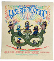 WIDESPREAD PANIC 💥 Red Rocks 2018 Poster #'d 184/500 by Marq Spusta 🐍