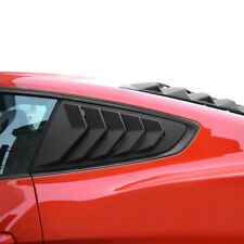 Quarter Side Window Louvers Scoop Paint Vent Cover For Ford Mustang 2015-2018