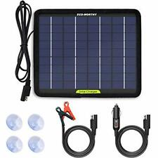 ECO-Worthy 12 Volts 5 Watts Solar Trickle Charger for 12V Batteries Portable