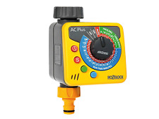Hozelock Automatic Water Computer Timer Plus - Yellow and Grey