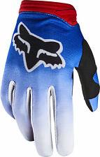 Fox Racing Womens Blue/Red/Black Dirtpaw Fyce Dirt Bike Gloves MX ATV 2020
