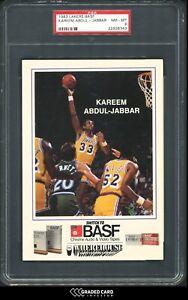 1983 Lakers BASF Kareem Abdul-Jabbar PSA 8 HOF 🏆 LAKERS