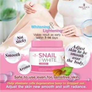 Snail White Body Cream Boost Whitening Body Cream Net Weight 200 g