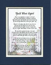 You'll Meet Again! (Male) Sympathy Gift For The Loss Of A Son #110