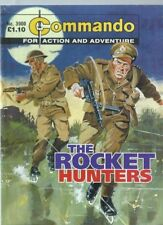 THE ROCKET HUNTERS,COMMANDO FOR ACTION AND ADVENTURE,NO.3900,WAR COMIC,2006
