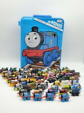 Thomas and Friends Minis and Storage Case Lot of 64 Assorted Rare HTF