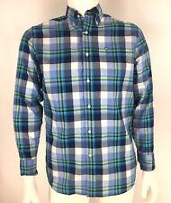 Southern Tide Mens Button Down Shirt Classic Fit Long Sleeve Blue Plaid sz S NWT