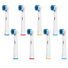 8 HEADS FIT FOR BRAUN ORAL-B FLEXISOFT TOOTHBRUSH REPLACEMENT REFILL HEADS EB-17