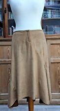 Guess Jeans Faux Suede Asymmetrical Skirt Size XL