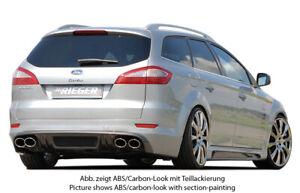 Rieger Heckansatz Ansatz für Heckschürze passend für Ford Mondeo BA7 00032107
