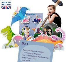 Dinosaur Party Game - Dinosaur Treasure Hunt for Children, Kids, ebay