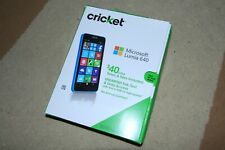 Microsoft Lumia 640 - 8GB - Cyan (Cricket) Smartphone