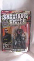 WWF Survivor Series Titan Tron Live Series 1 The Rock Action Figure 1999 t899