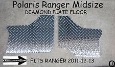 POLARIS RANGER MID-SIZE 400-500-800 DIAMOND PLATE FLOOR BOARDS 2011-13