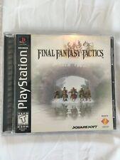New listing Final Fantasy Tactics - Playstation Ps1 - Complete