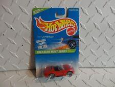 1996 Hot Wheels Treasure Hunt #433 Rosso Dodge Viper Rt-10 W/ Lace Ruote