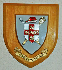 York City Police wall plaque shield crest Constabulary
