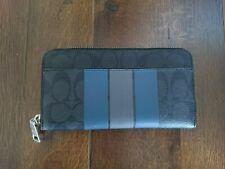 Coach Mens Zipped Wallet