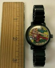 WONDER GIRL VINTAGE 1986 Woman AVION OUT OF TIME WIND UP WATCH Comic RARE WORKS