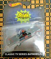 Hot Wheels 1966 TV Series Batmobile or Batcopter Batman ***Cards have Creases***