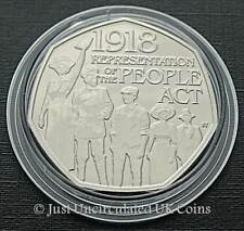 2018 Representation Of The People Act 1918 BU 50p - Royal Mint - Fifty Pence GB