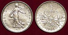 FRANCE 5 francs 1984 RARE high grade