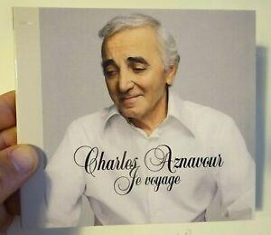 CHARLES AZNAVOUR (2003) ♦ Edition Limitée ♦ JE VOYAGE