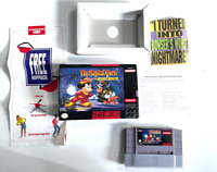 Magical Quest starring Mickey Mouse SUPER NINTENDO SNES Game COMPLETE CIB
